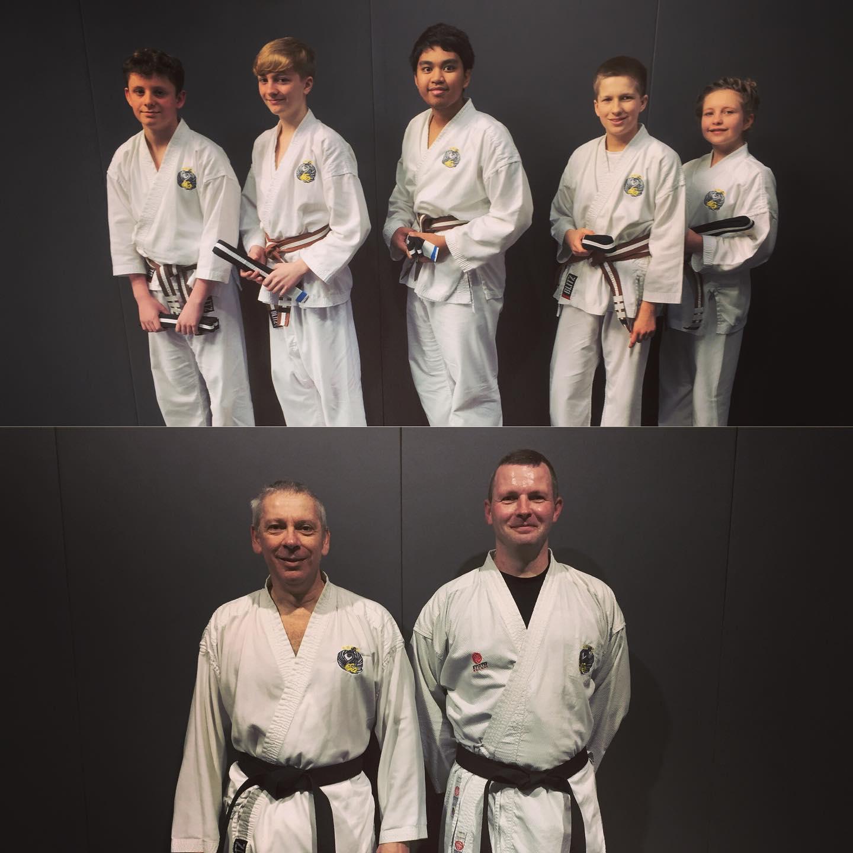 black belt Gradings 2020