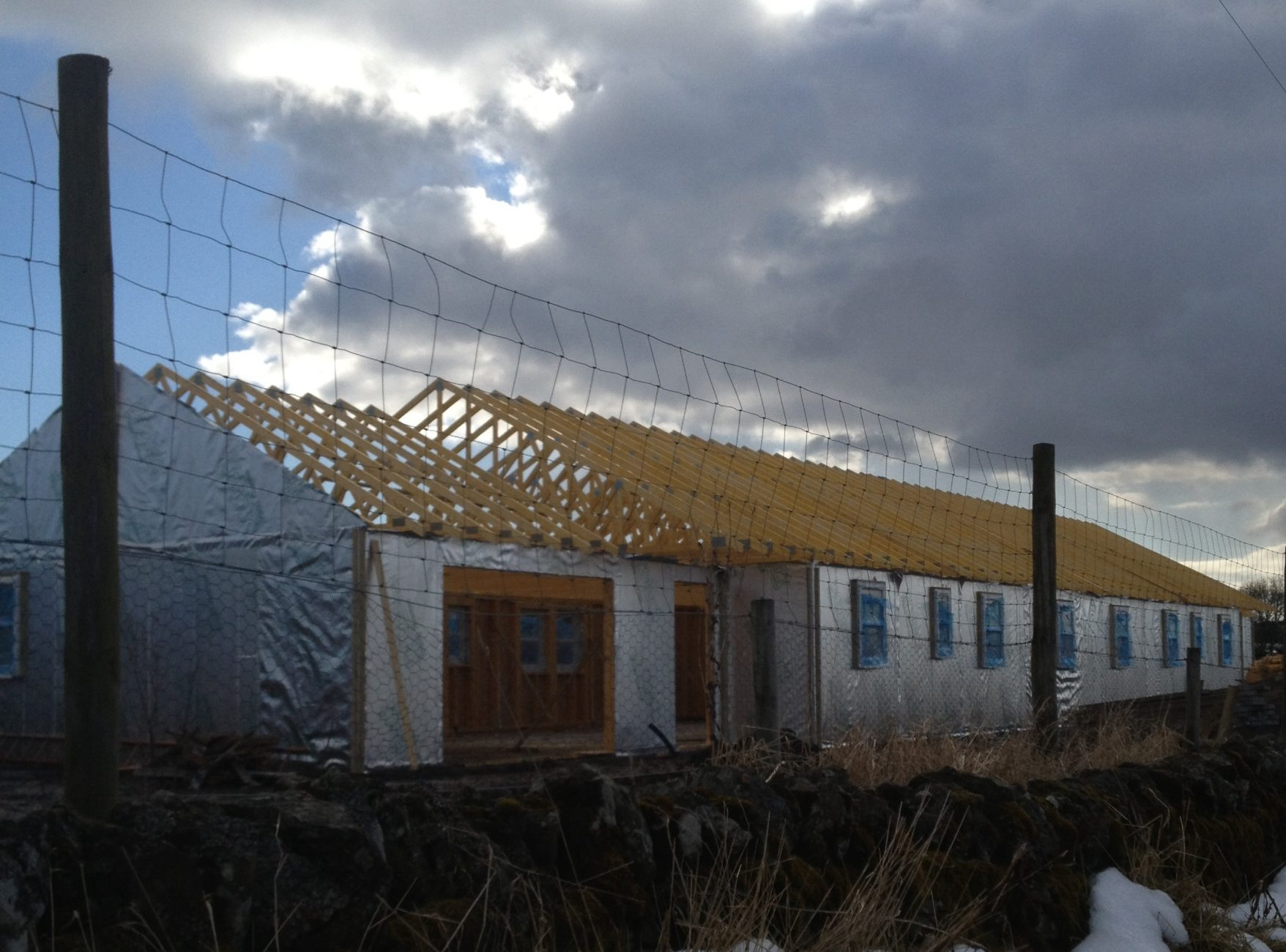 Tayside Forestry - Workers accommodation Exterior pre-siding