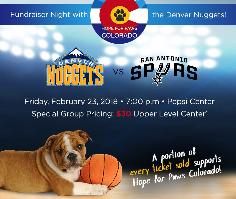 Fundraiser Night with the Denver Nuggets!