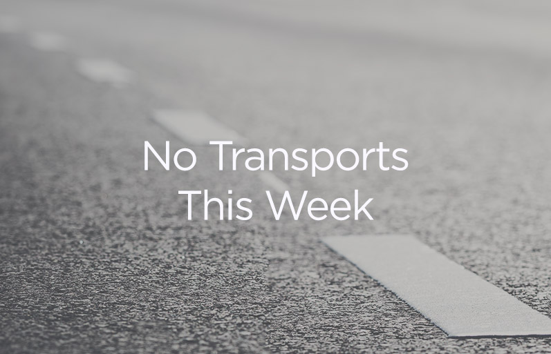 No Transports This Week