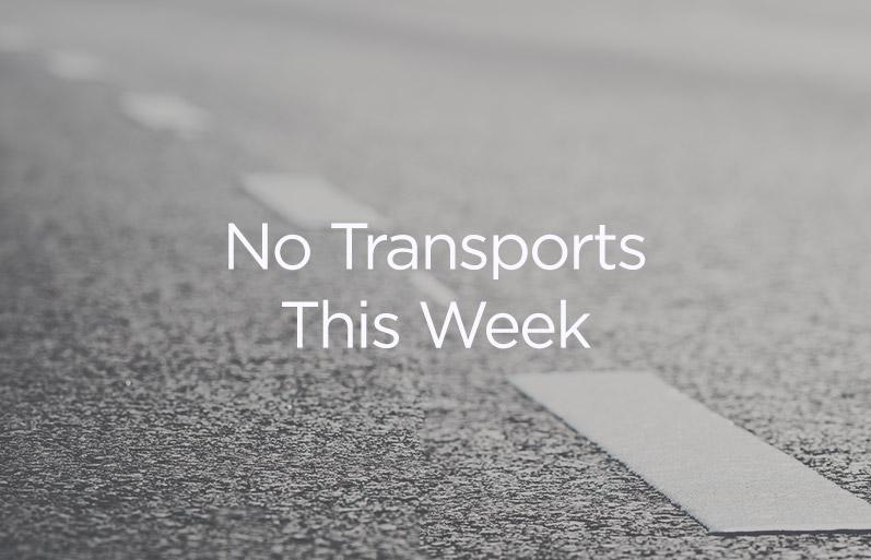 No Transports This Week