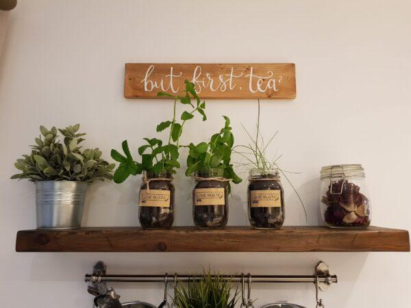 Indoor Herb Garden Grow Your Own Kit in Jars