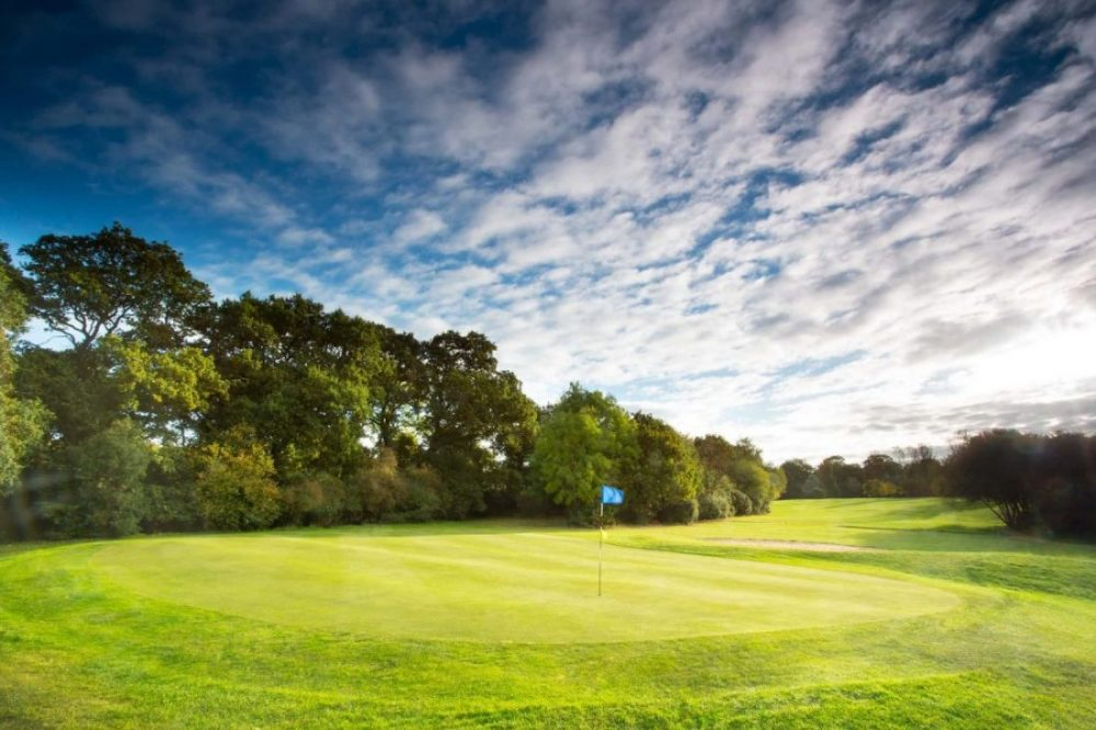 The Blue Course at Wexham Park Golf Centre in Buckinghamshire