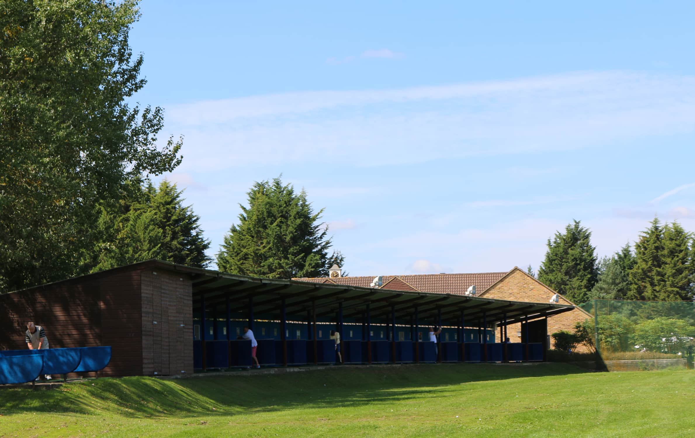 Golf Range at Wexham Park golf course in Buckinghamshire