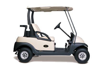 Buggies to hire at Wexham Park Golf Centre in Buckinghamshire