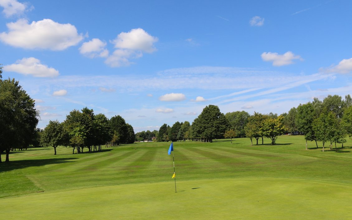 The 18 Hole Blue Courses at Wexham Park Golf Centre based in Buckinghamshire
