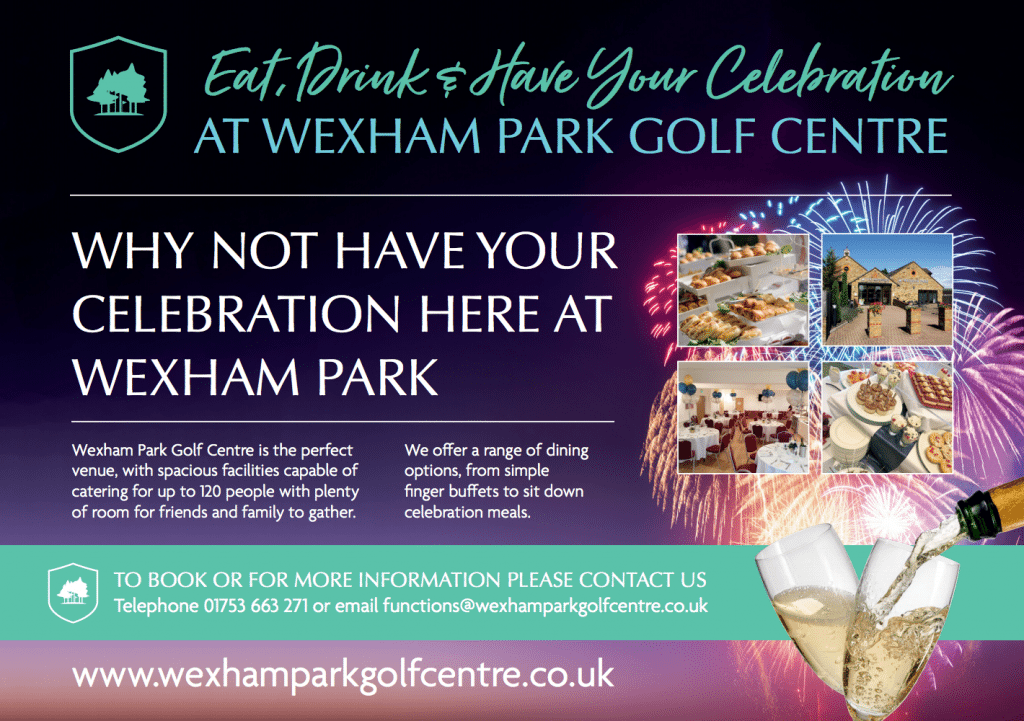 Parties at Wexham Park Golf Centre based in Slough, Buckinghamshire
