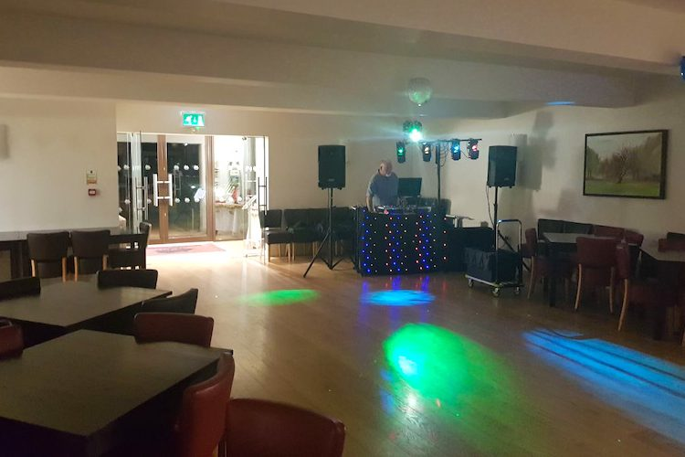Party room at Wexham Park Golf Centre in Slough