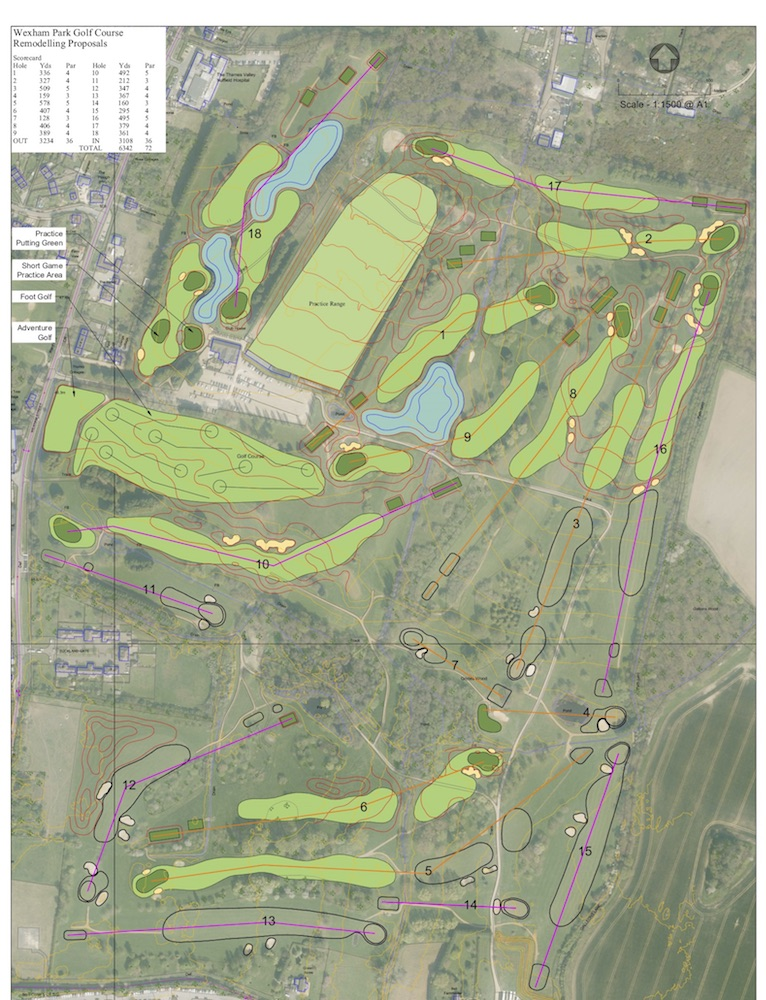 Wexham Park Golf Centre Redeveloped Course