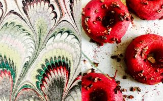 donuts, patterned design