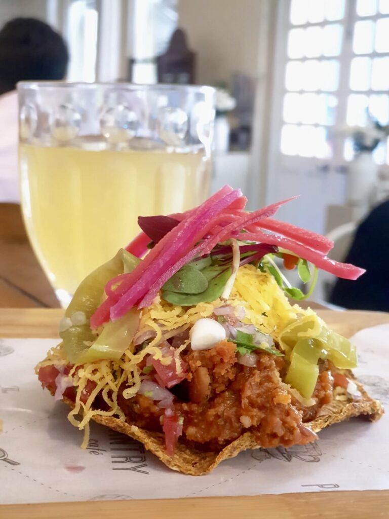 Kombucha and Taco