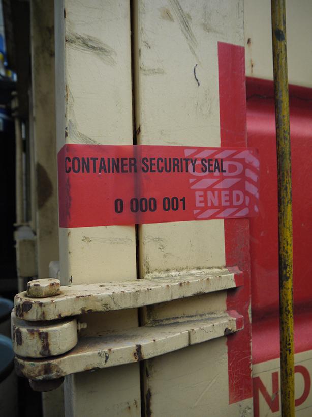 Sea Container Tamper Evident Seals