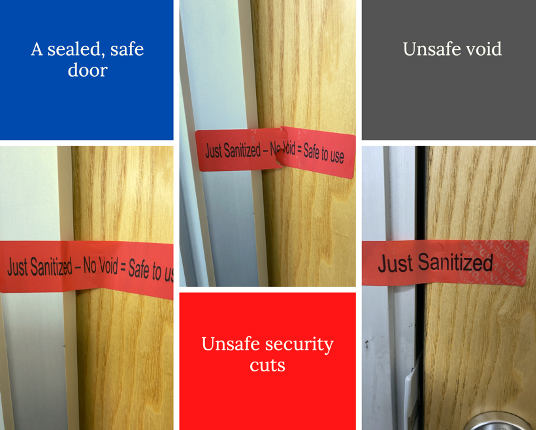 Room Secure Non-Residue Labels