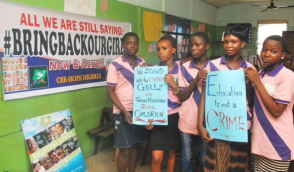 One Hundred Chibok Girls Remain Kidnapped by Boko Haram