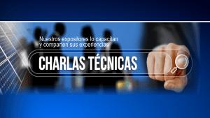 Pantalla Charlas técnicas