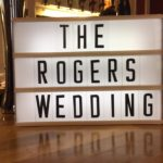 The Rogers' Wedding