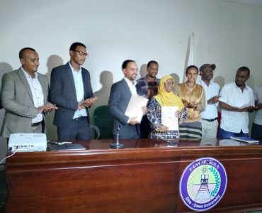 IE Networks signs a project contract worth 52 Million+ ETB with Dire Dawa University