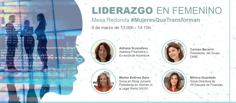 Mesa Redonda #MujeresQueTransforman: liderazgo en femenino