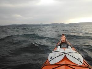 Kayaking Loch Ewe