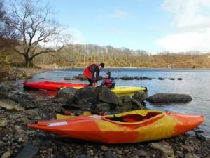Ewe Kayaking