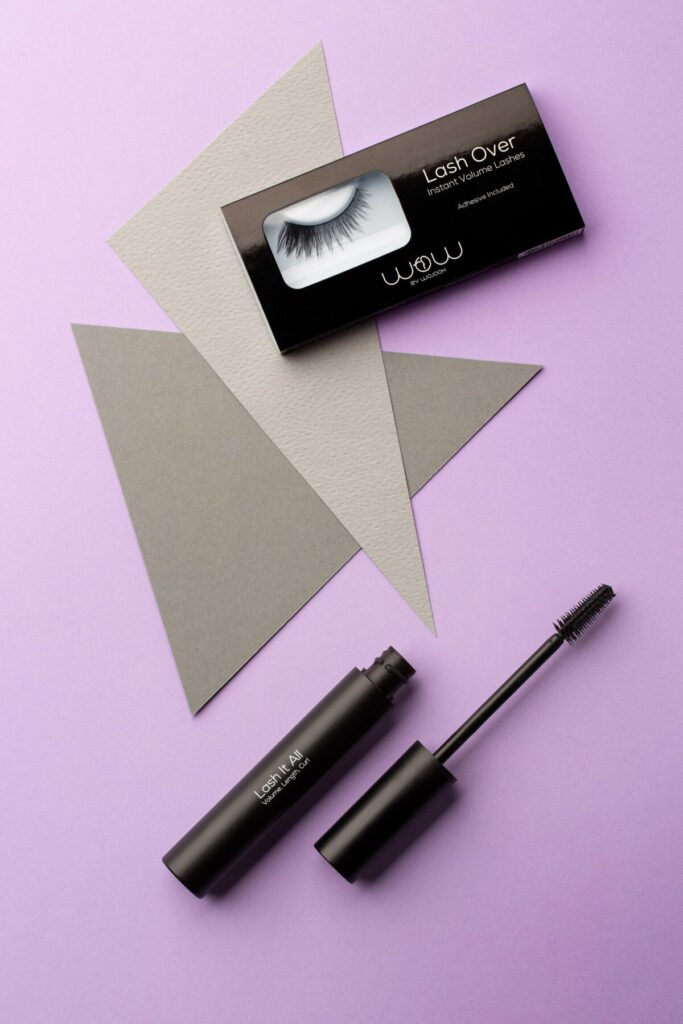 Wow By Wojooh Mascara and lashes studio product photography