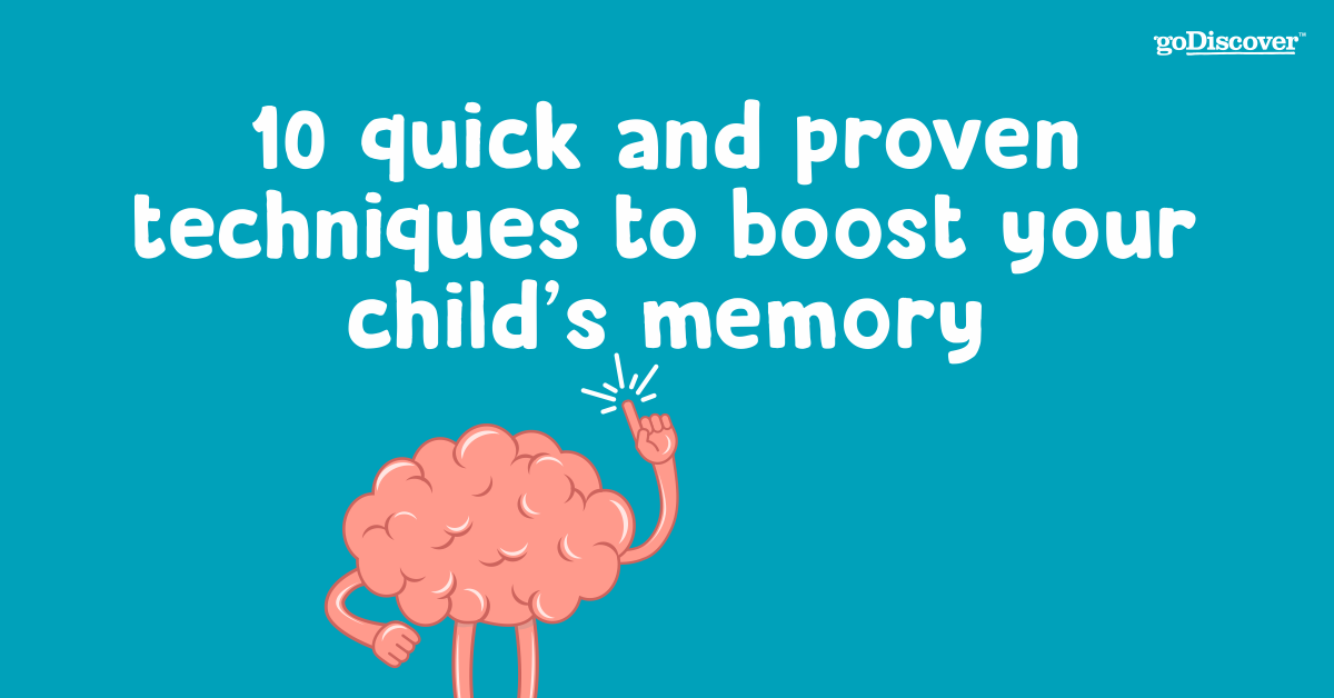 10 quick and proven techniques to boost your child's memory