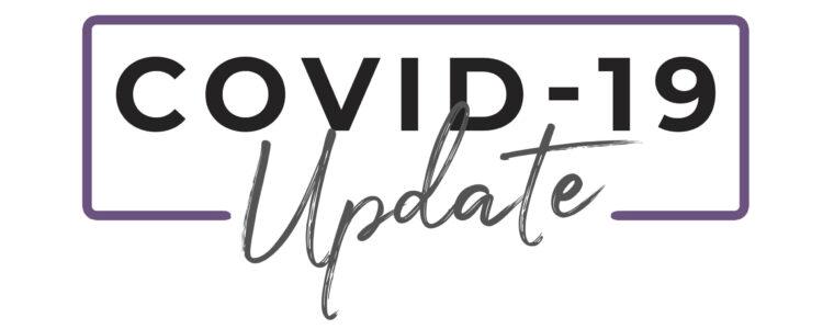 Covid-19 Update button copy