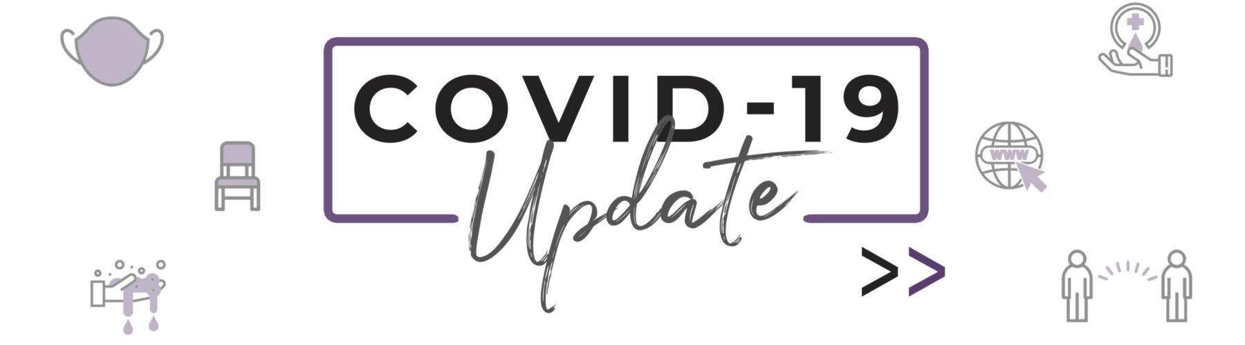 Covid-19 Update header