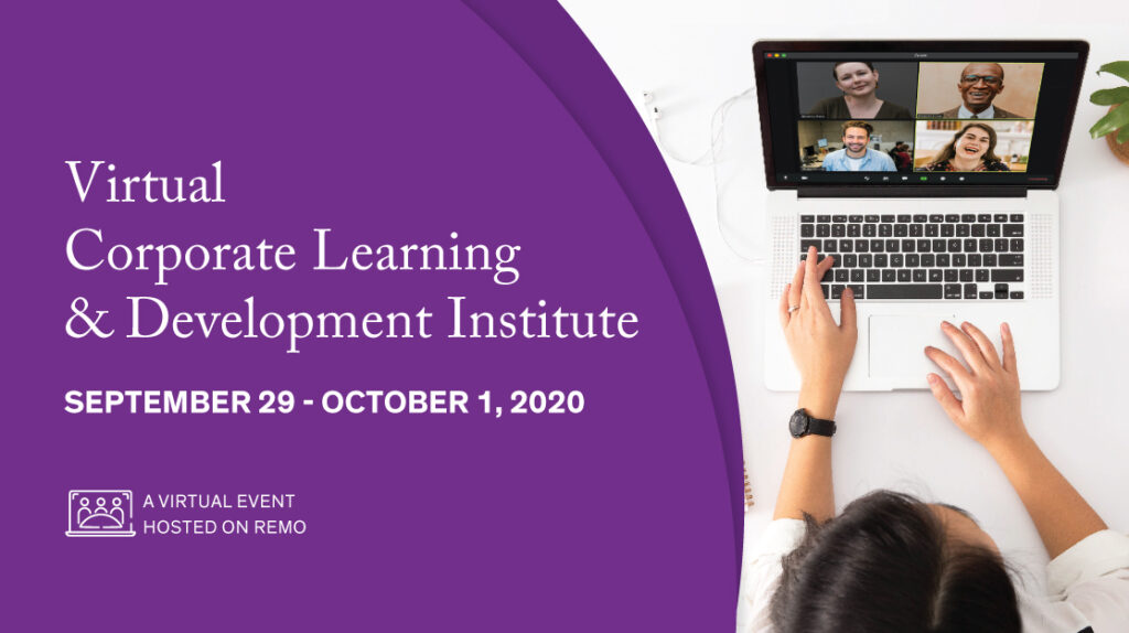 Virtual Corporate Learning & Development Banner