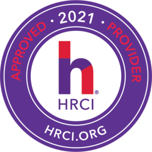 HRCI Approved Provider 2021