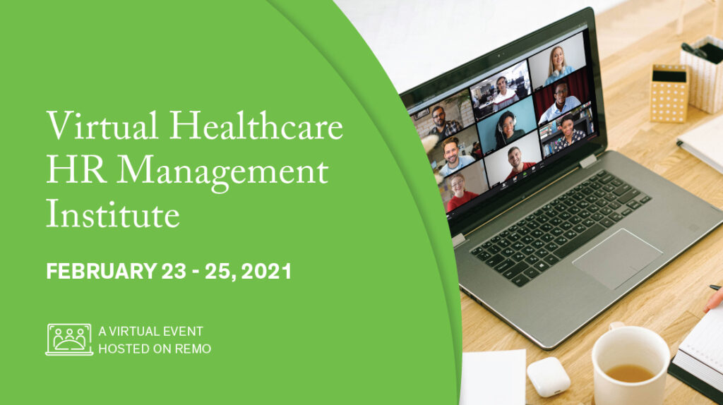 Healthcare HR Management Institute banner