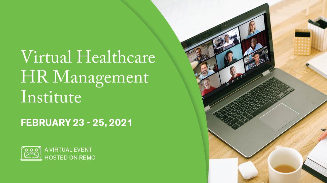 Healthcare HR Management Institute banner