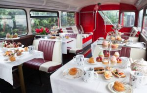 B Afternoon Tea Bus