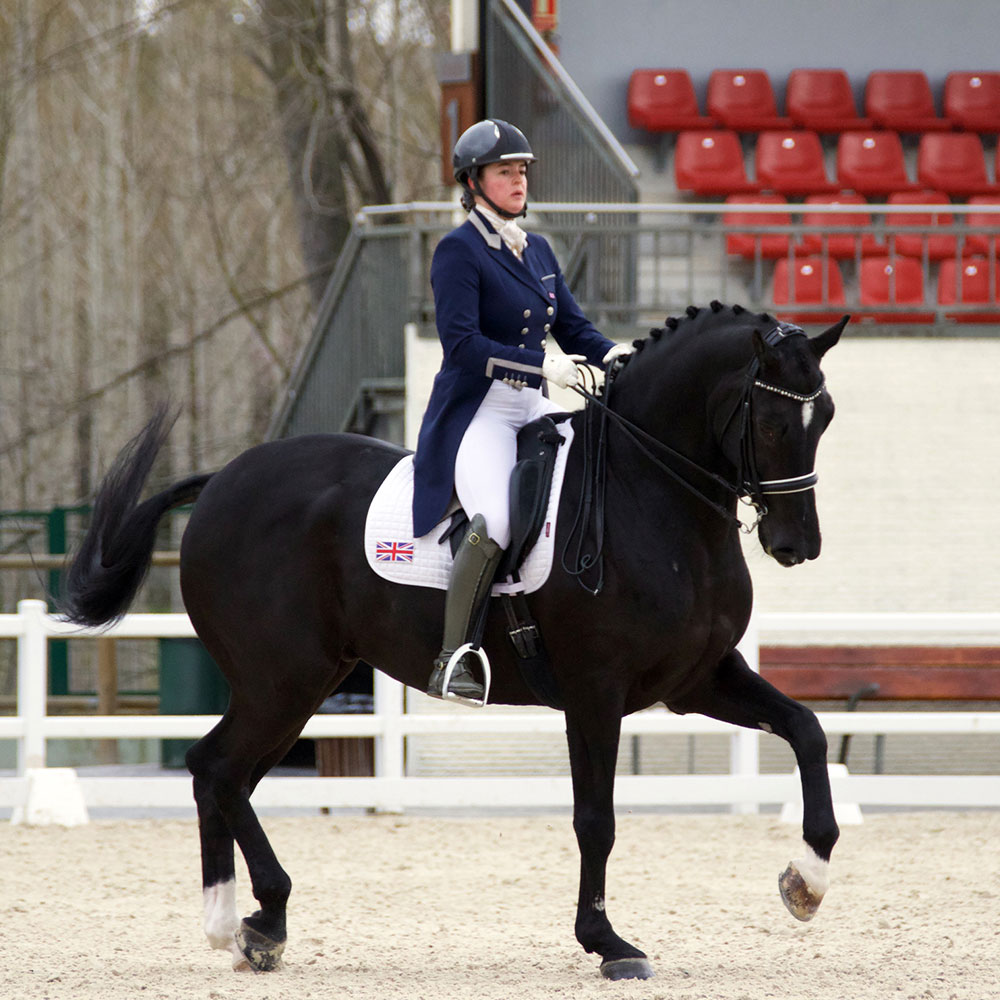 Bronte Watson and Char competing