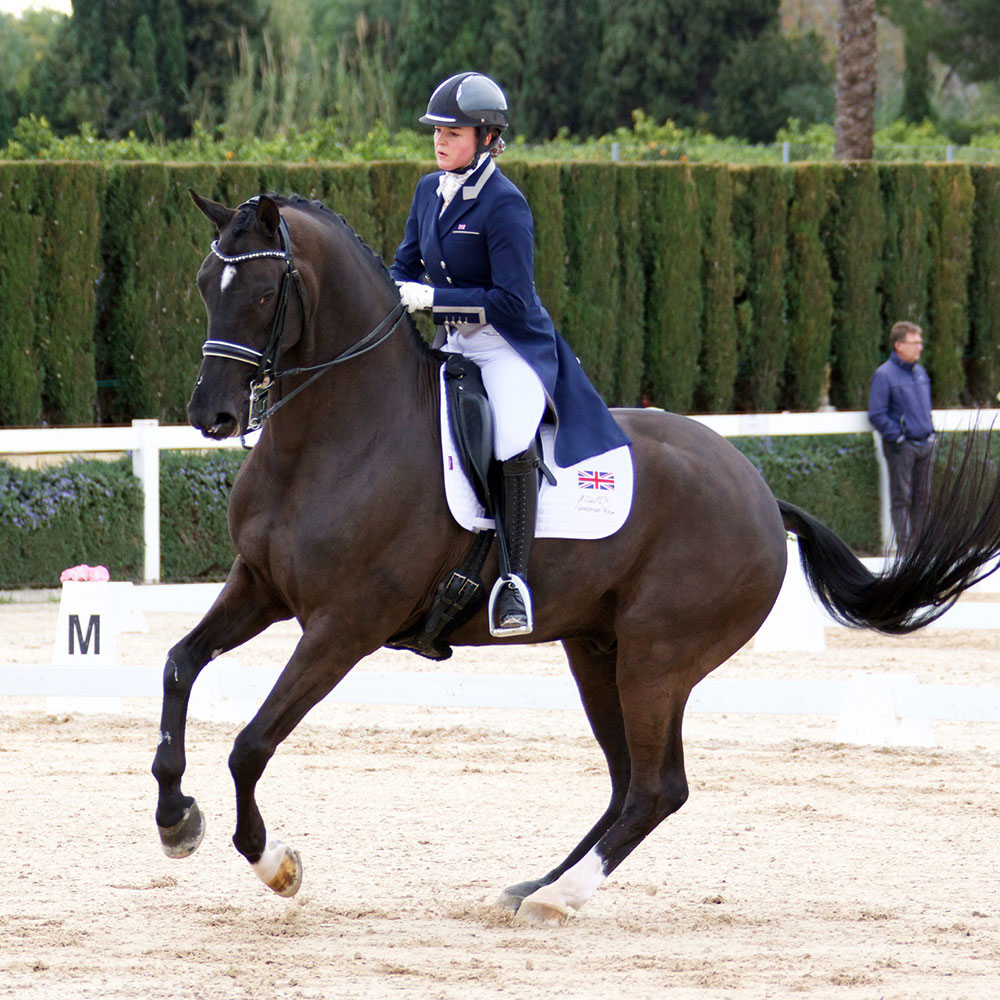 Char and Bronte Watson Canter Pirouette