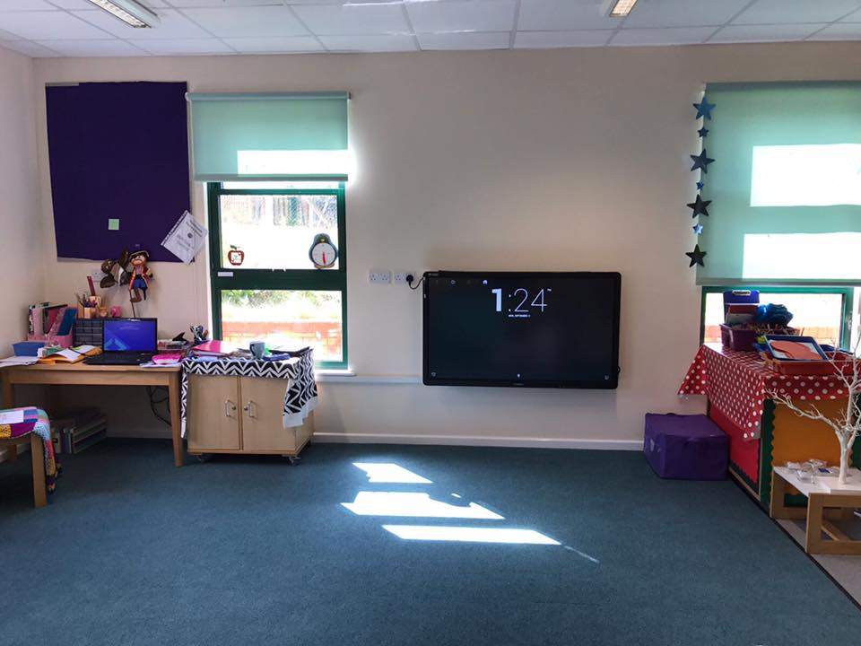 Touchscreen for Nursery