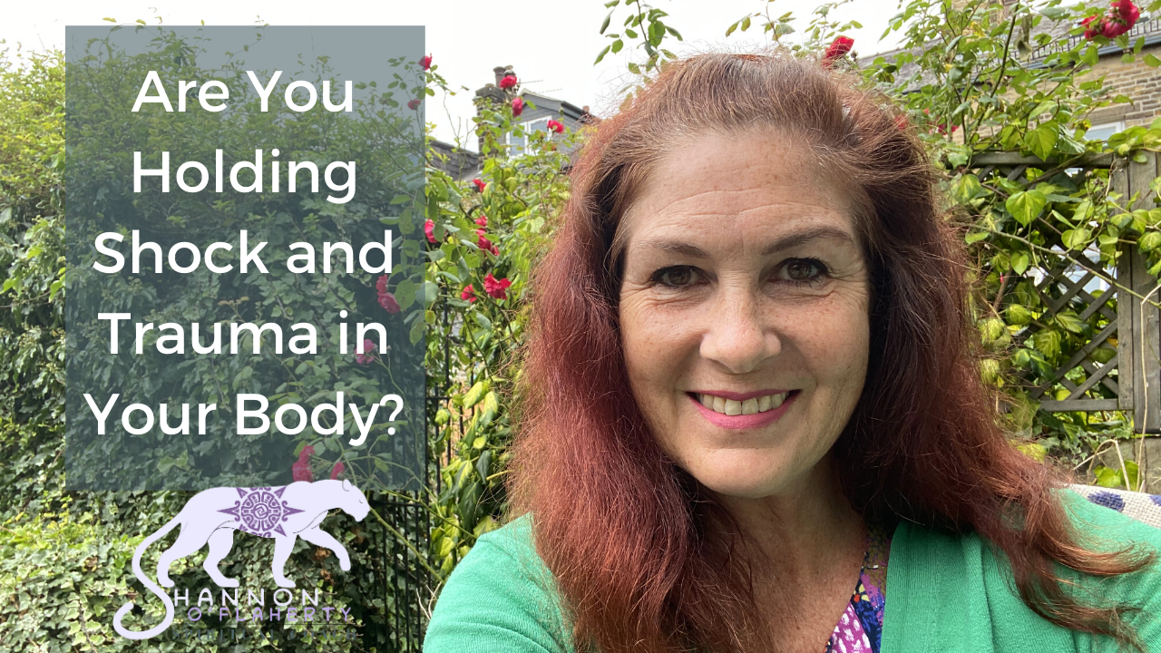 Are You Holding Shock and Trauma in Your Body?
