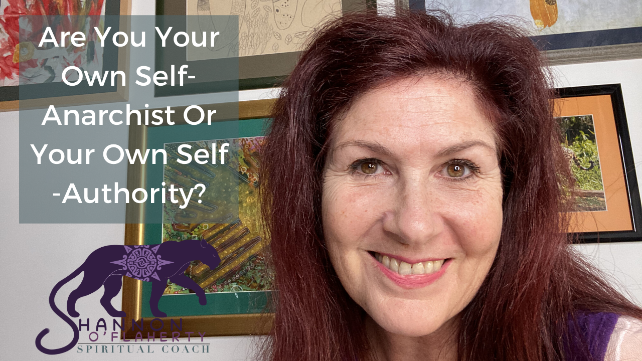 Are You Your Own Self-Anarchist or Your Own Self-Authority?
