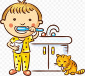 Brush your teeth - Lavarse los dientes