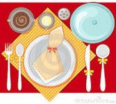 Set up the table - Poner la mesa