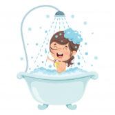 Bath time - Hora del baño