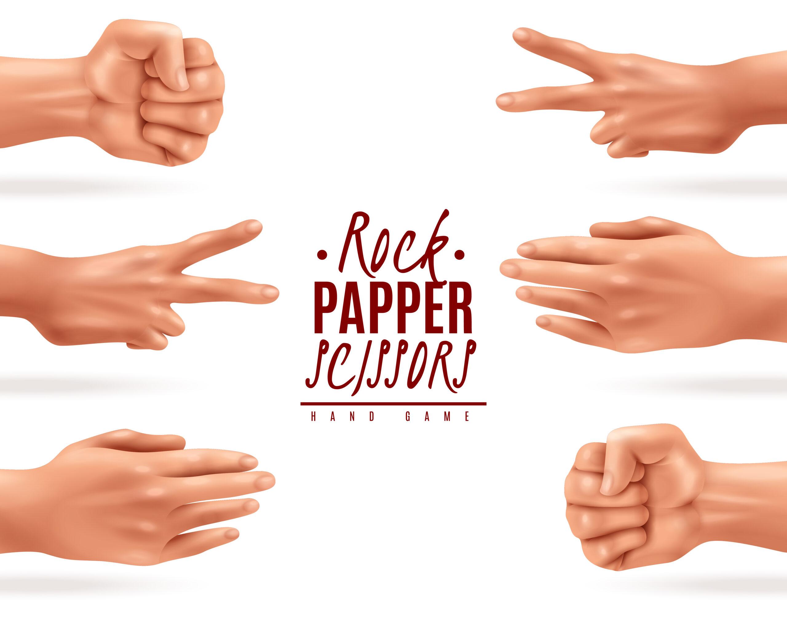 ROCK, PAPER, SCISSORS - Piedra, papel o tijera