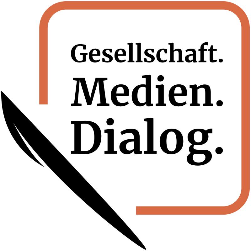 Gesellschaft.Medien.Dialog. Logo