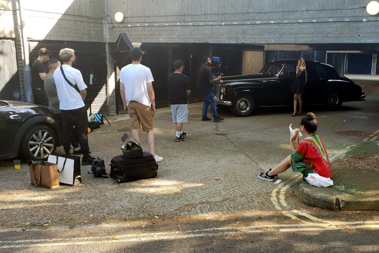 Prestige and Classic Cars for Film Work - The Gentleman's Carriage Service
