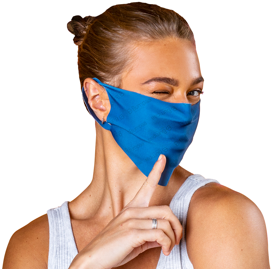 Antiviral fabric face masks manufactured in the UK