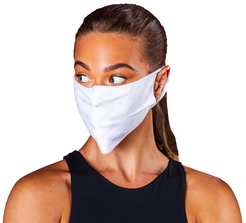 Bumpaa Anti Viral face masks are re-usable fabric face masks to prevent the spread of a virus