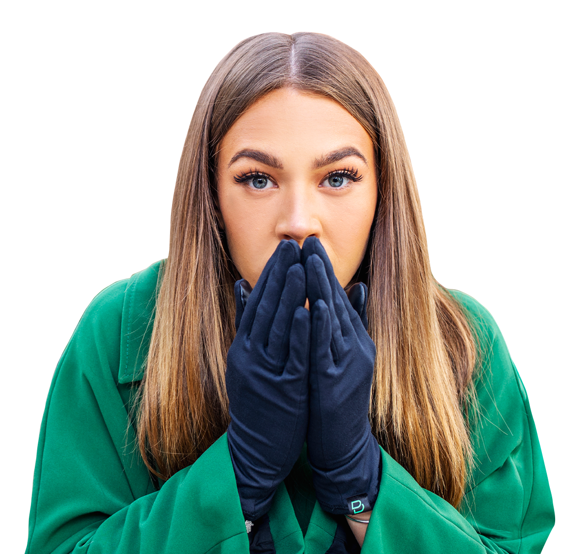Bumpaa antiviral gloves protecting against viruses and dry skin caused by sanitising
