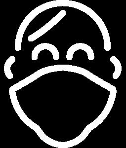 Kids masks icon