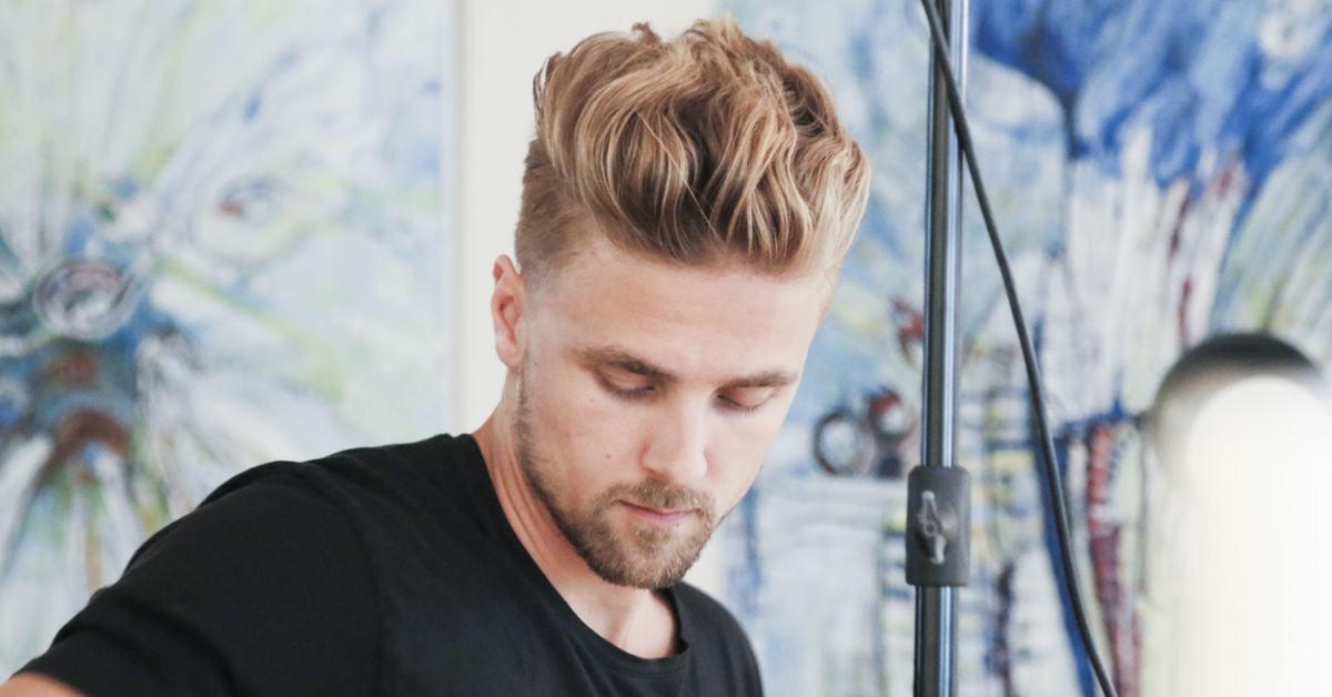Longer top haircut