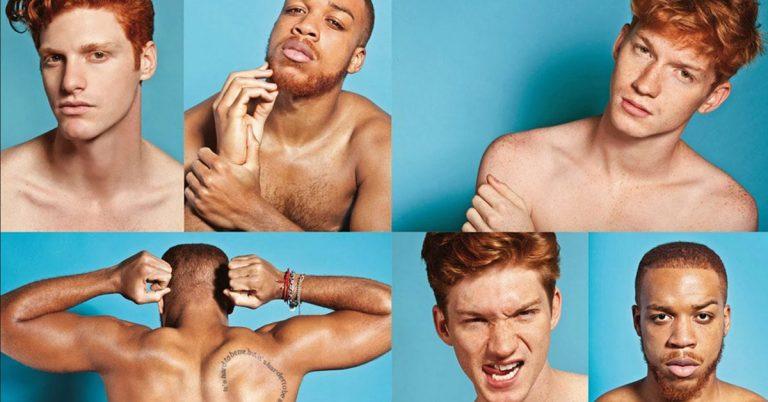 Redhead hairstyles men
